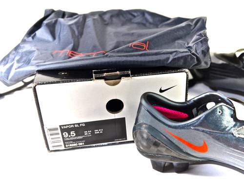size 40 de864 faea1 Nike Mercurial Vapor SL FG Charcoal Size UK 8.5