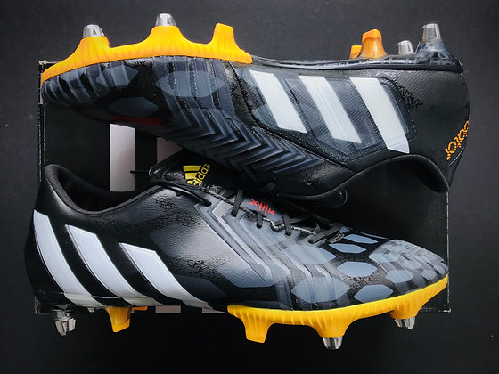 adidas Predator Instinct SG Core Black / Future White / Solar Gold