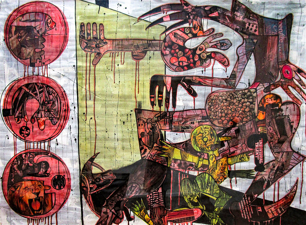 Art Herald Magazine, South African artist, Blessing Ngobeni, Knysna Fine Art