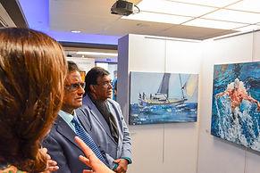 Mauritius International Art Fair Exhibit