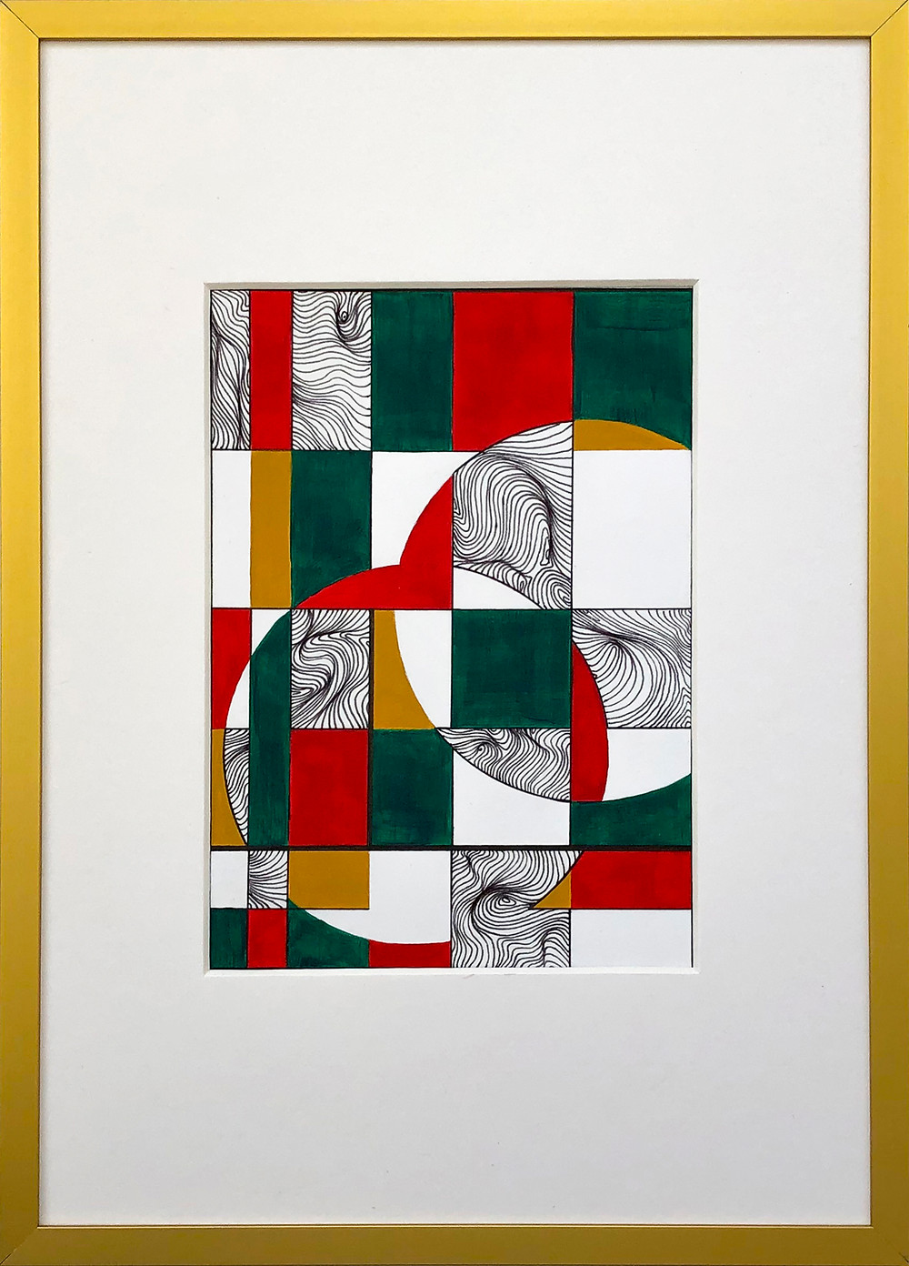 Art Herald Magazine, Gilbert Menassa, United Kingdom artist, UK artist, Line artist, Pen art