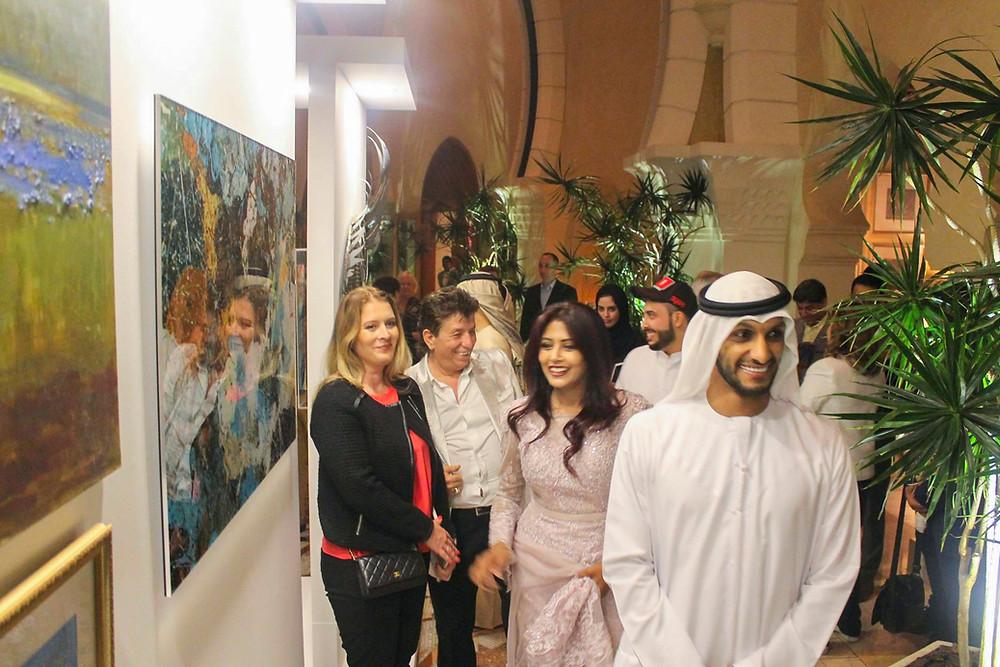 Art Herald Art Connects Women 2019 Dubai One&Only Royal Mirage