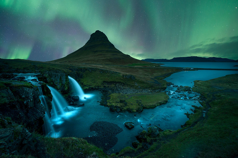 Art Herald Magazine, Hamed Alderei, Photographer, Fine Art Photography, Iceland, Aurora Borealis, Northern Lights