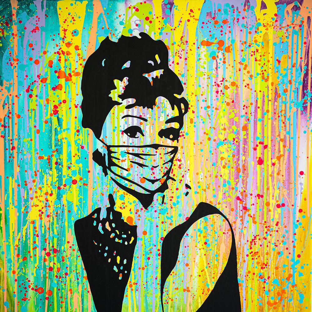 Art Herald Magazine, Manasse Rampino, Pop art, Disney, Chanel, Marilyn Monroe, audrey hepburn, Europa