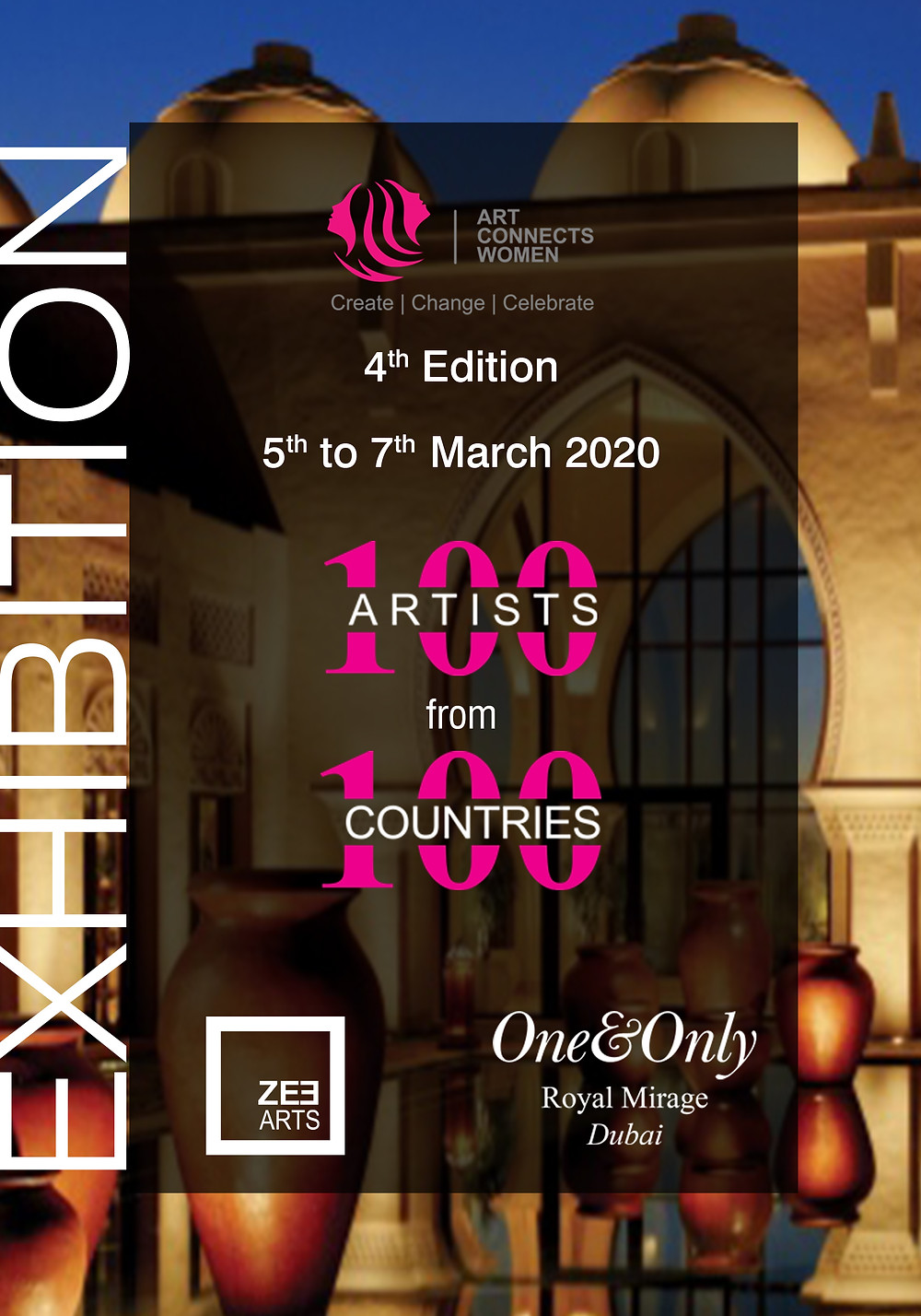 Art Herald Magazine, Art Connects Women International Exhibition, ZeeArts, Dubai, One&Only Royal Mirage
