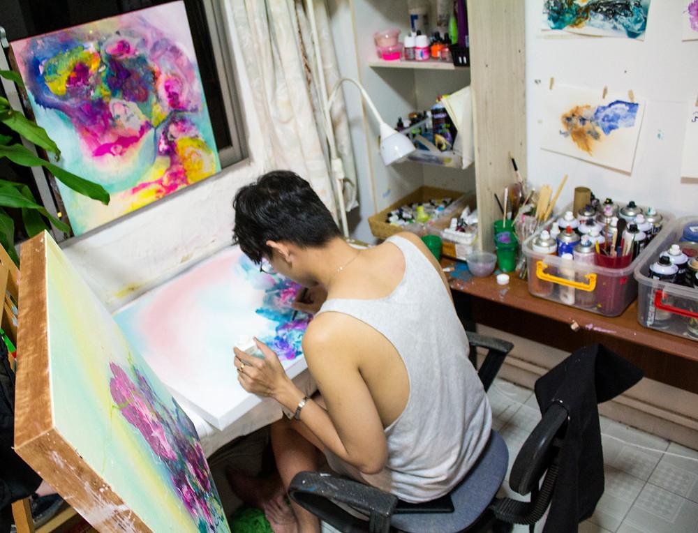 Vietnamese Artist Le Tuan Ry
