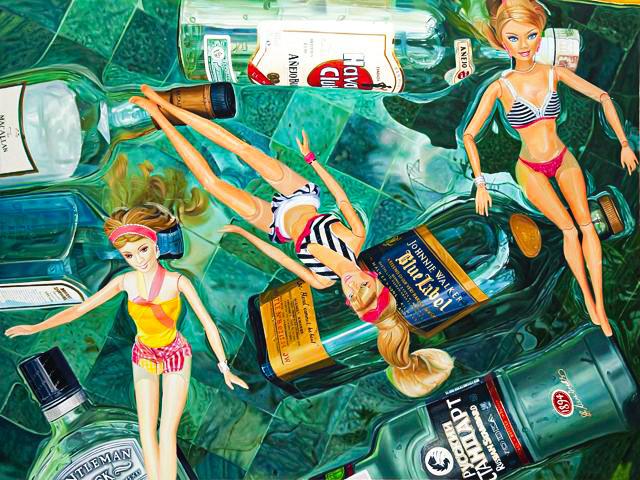 Art Herald magazine, Indonesian artist, Dodit Artawan, Barbie, Hyperrealism