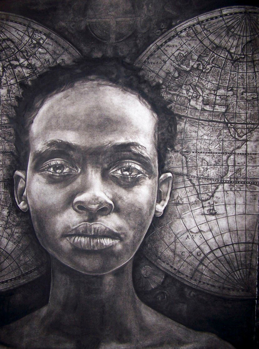 Art Herald Magazine, south africa, chiaroscuro, knysna fine art, charcoal drawing
