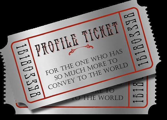 Art Herald Profile Ticket
