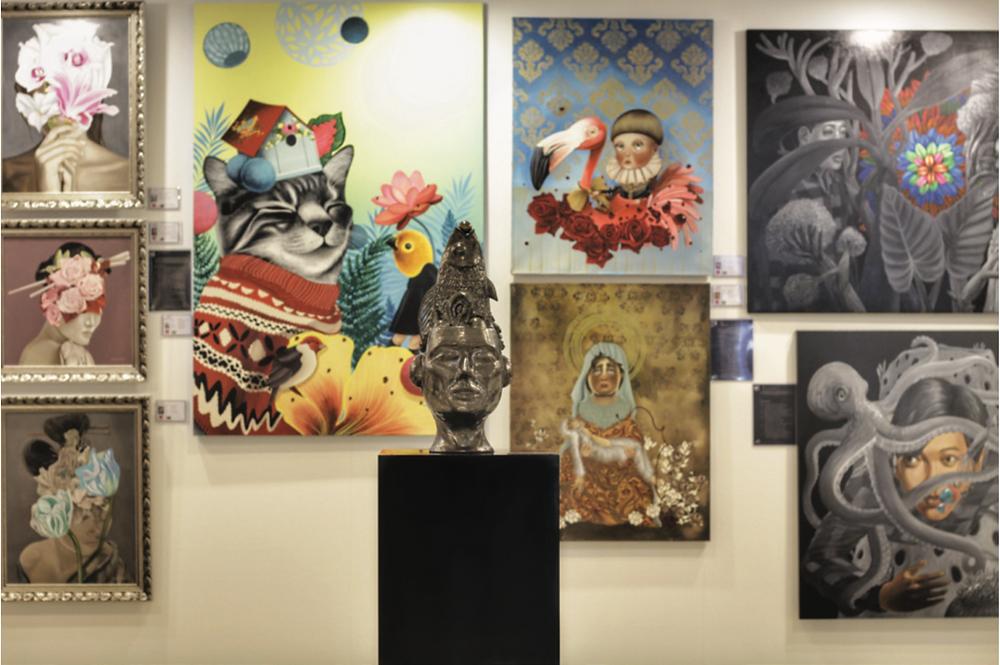 Art Front Collective, Affordable Art Fair Singapore 2018