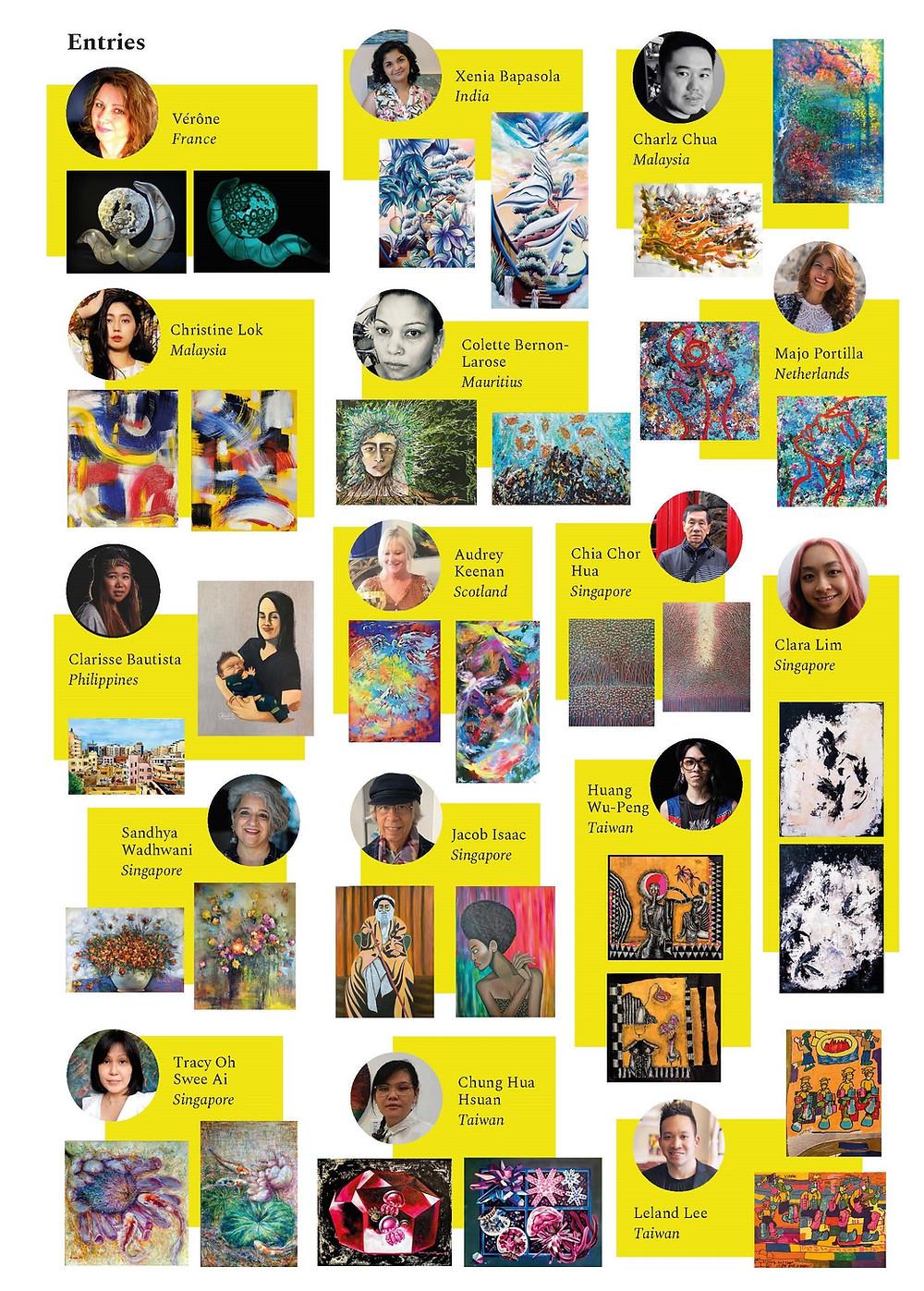 Art Herald Magazine, The Collector's Award, Studio-ID Art Gallery, Global Art Competition, Nidhi Samani, Deborah Henry-Pollard, Joan Marie Kelly, Gerald Tay