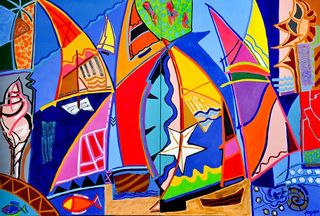 2011-Danse des voiliers 3- Dyptique- Acr