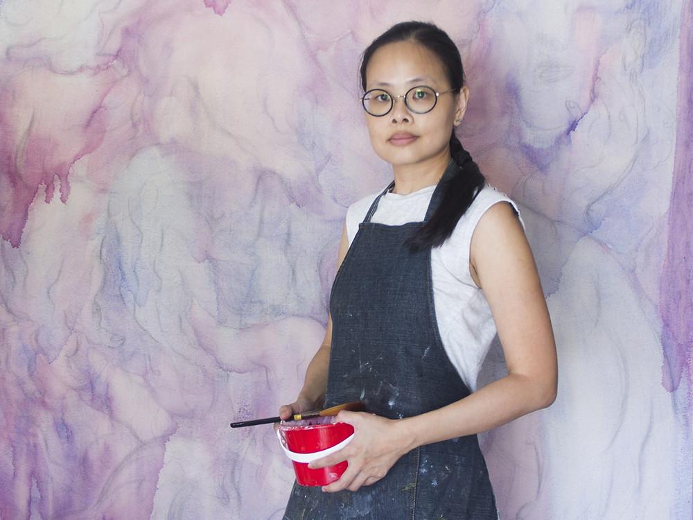 Art Herald Magazine, Cuturi Gallery, Figure Painting, Body Painting, Singaporean Painter, Singaporean Artist, Oil on Canvas, Figurative Art