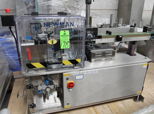 178 - NEWMAN LABELLING NVS PACKAGING EQUIPMENT