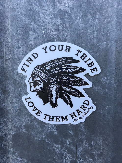 Die Cut Tribe Sticker