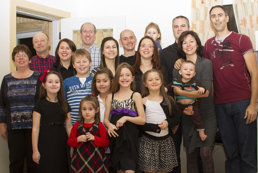 Ma famille !