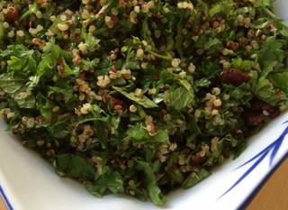 Taboulé de quinoa à la menthe