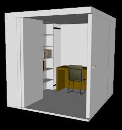 OCO Serie L+ espace de silence pour bureau