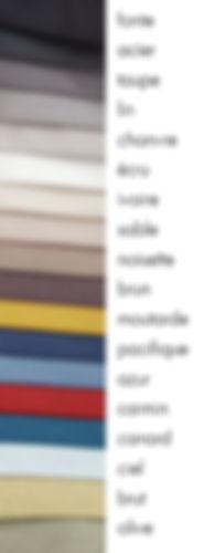 gamme de coloris pour OCO Série L, cabine acoustique pliable pour musicien
