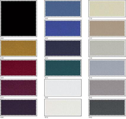 couleurs SATIN