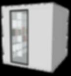 Cabine acoustique pliable OCO Serie L+ clos