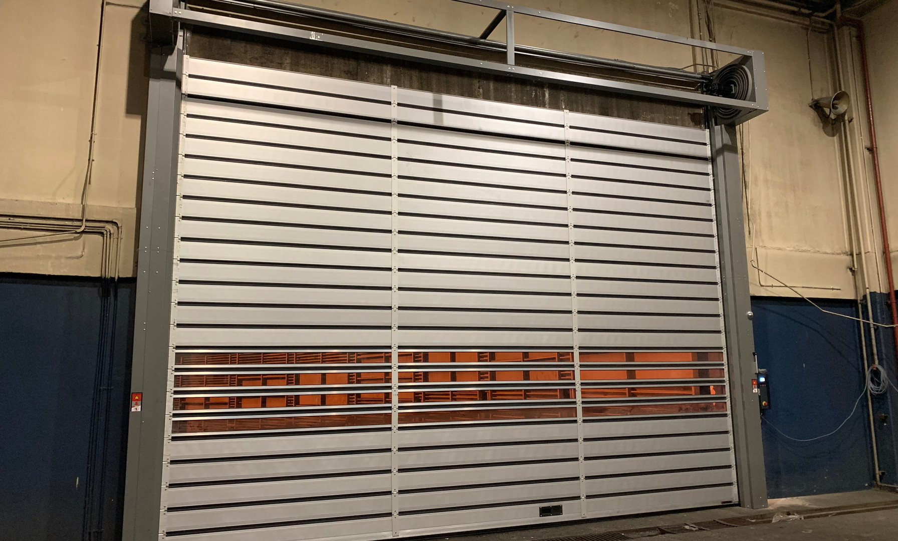 STAR ROLLING High-speed Sprial Insulated Shutter