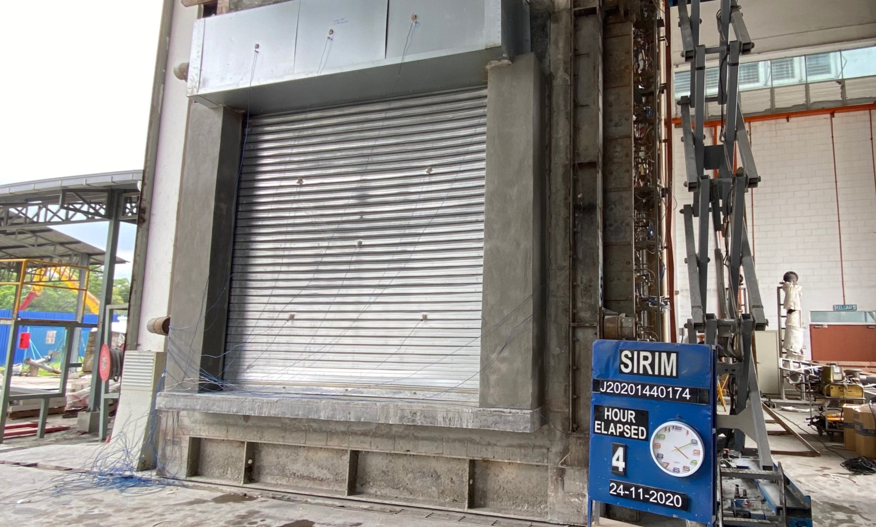 Malaysia Insulated Fire Shutter 4 Hours