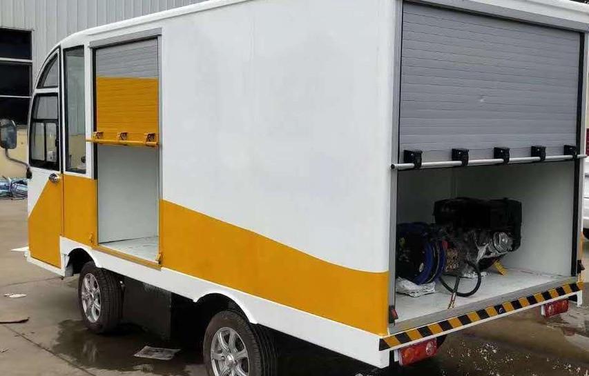 Site Service Tools Box Vehicle