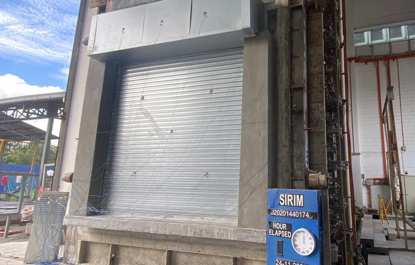 Malaysia Insulated Fire Shutter