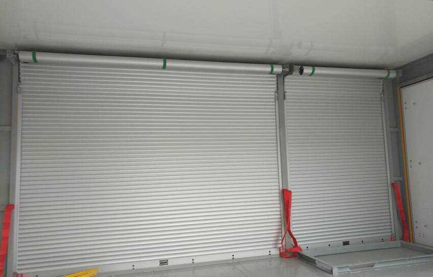 Vehicle Shutter with Overload Strap