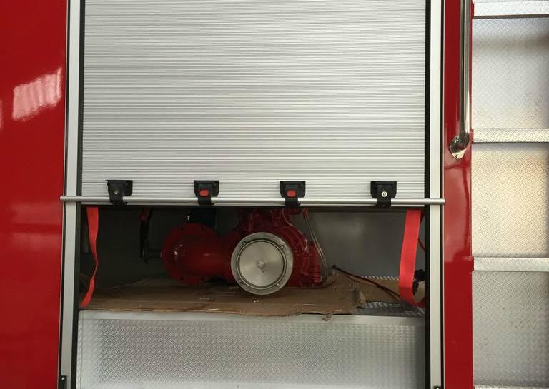 Fire Engine Roller Shutter for Swift Access