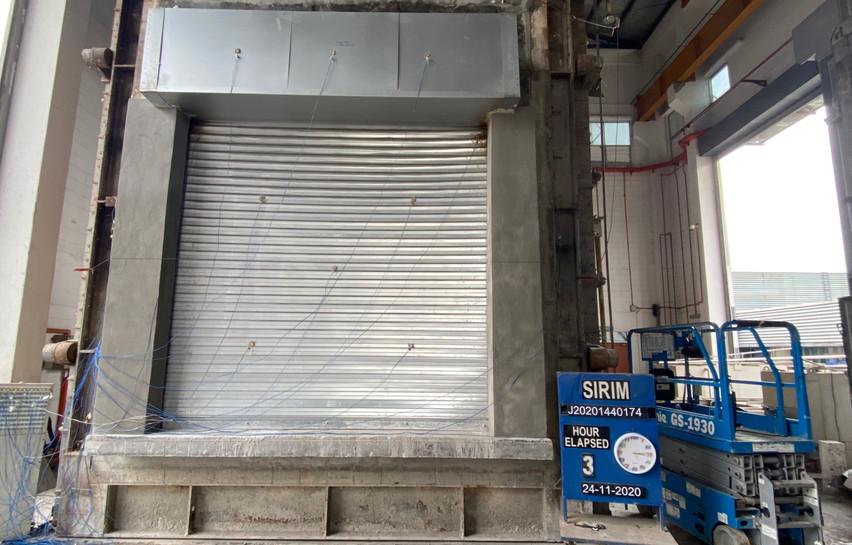 Malaysia Insulated Fire Shutter 3 Hours