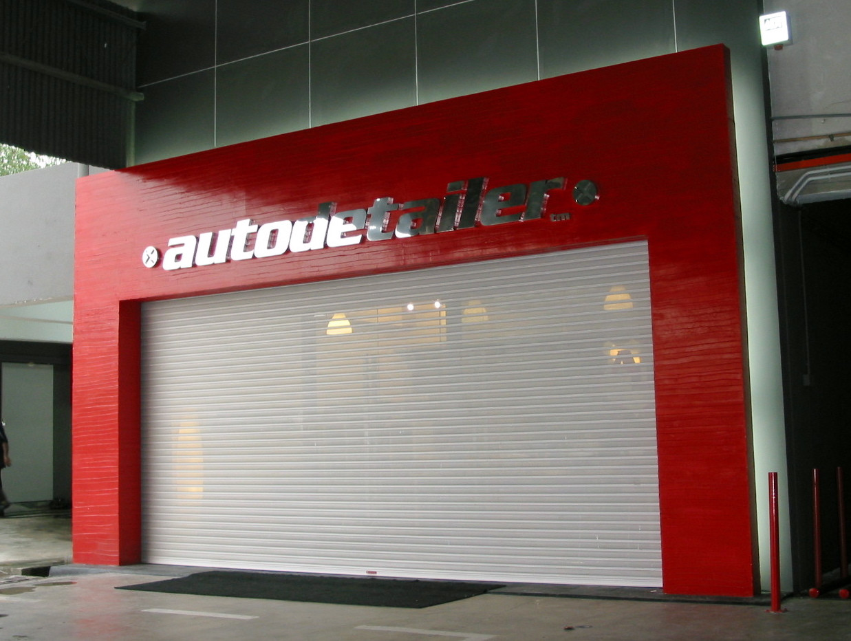Perforated See-thru Roller Shutter