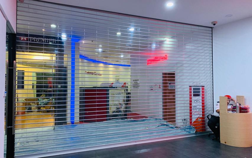 STAR ROLLING ClearVision® Transparent Shutter @ HSBC Damansara Millennium
