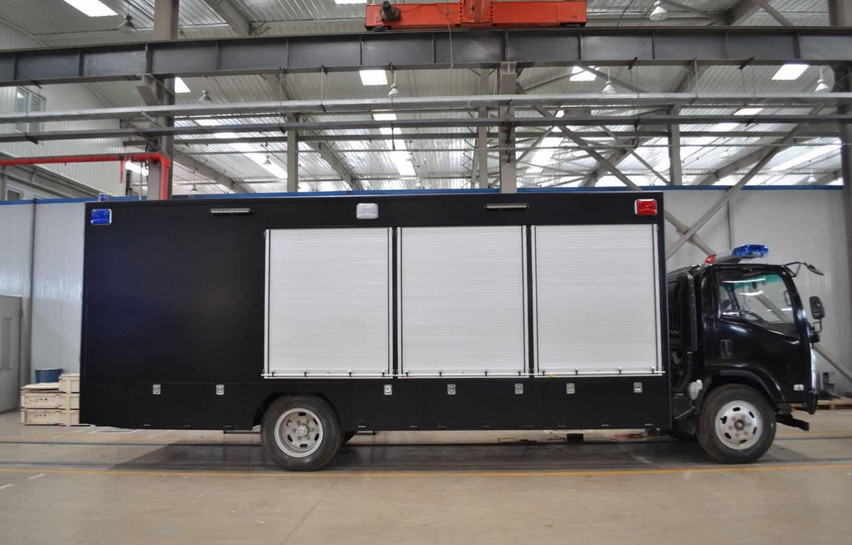 Special Police Deployment Truck