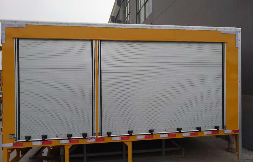 Mobile Kiosk Vehicle Roller Shutter