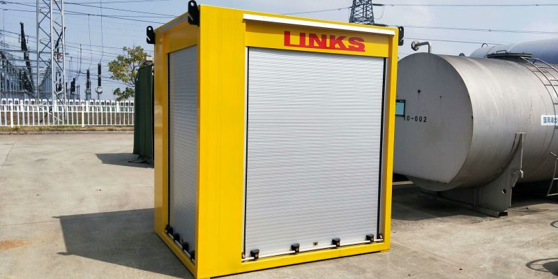 Mobile Shutter For Mini Container