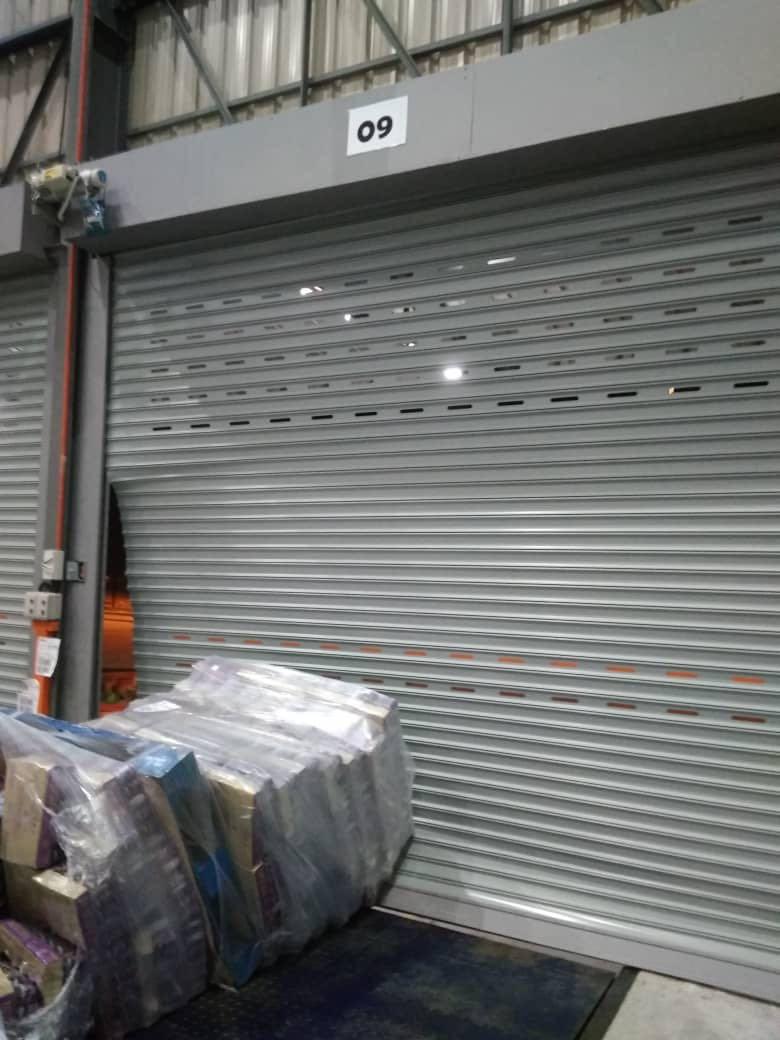 Roller Shutter Damaged
