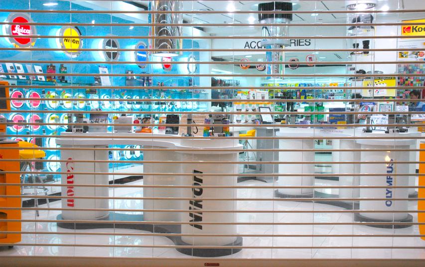 Transparent Shutter KLCC
