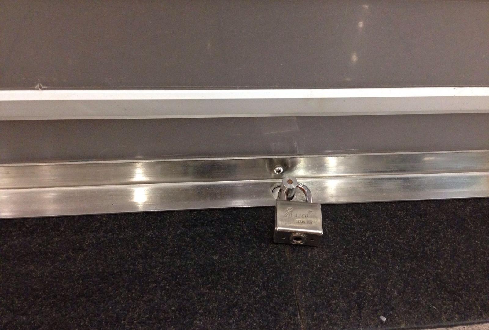 G-Lock Padlock System For Maximum Roller Shutter Security