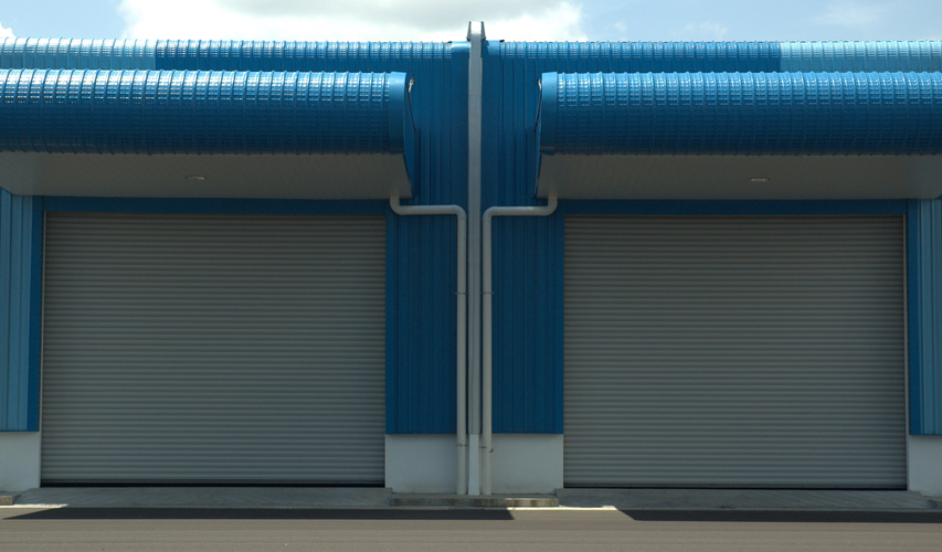 Motoirzed Security Roller Shutter