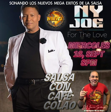 September 16, 2020 — Interview on Salsa Con Cafe Colao with DJ James Santiago