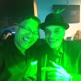NY Joe & His Friend at an Event