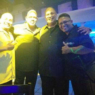 NY Joe & Friends at an Event