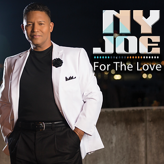 "NY Joe's debut album, ""For The Love,"" cover art"