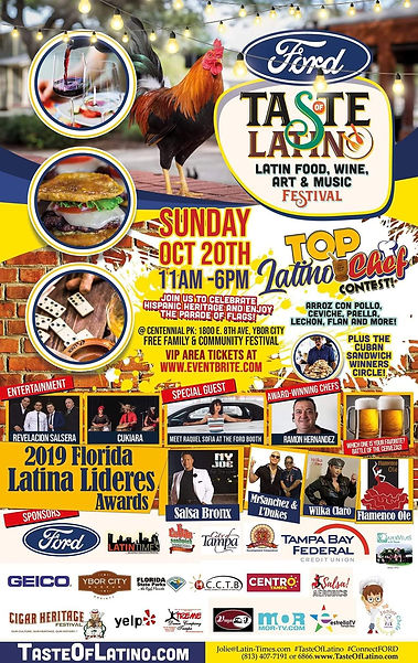 October 20, 2019 — Taste of Latin Festival in Ybor