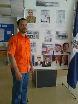 Exposición en la RUDN - MOSCU.