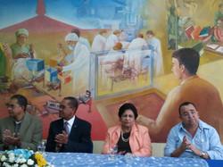 Mesa Directiva UASD y Ministros.