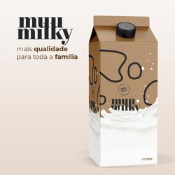 Embalagem de Leite, Desenvolvimentos de Embalagem, Alimentos, Produtos da Orgânico