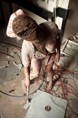 Silent Hill Nurse Cosplay